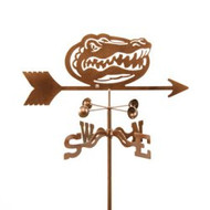 Florida Gators Logo Weathervane with mount
