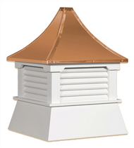 Cupola - Elite Shed: Azek – Pagoda Copper Top - 25Lx25Wx30H