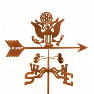 Army - Original Logo Weathervane With Mount