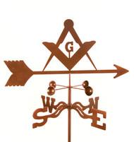 Masons Logo Weathervane With Mount