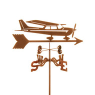 Airplane-Cessna Weathervane With Mount