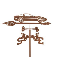 Car-Corvette C4 Weathervane With Mount
