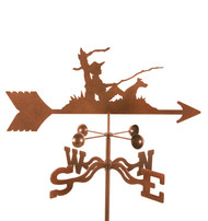 Fisherman Weathervane With Mount