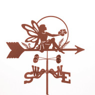 Garden Fairy Weathervane With Mount