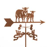 Sheep Weathervane With Mount