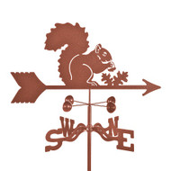 Squirrel Weathervane With Mount