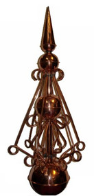Finial - Victoria Polished Compact