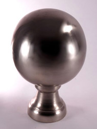 Finial - Large Londoner- Nickel Brushed