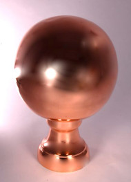Finial - Medium Londoner-  Copper Polished