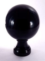 Finial - Large Londoner-  Black Gloss