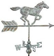 Weathervane - Horse - Copper With Mount