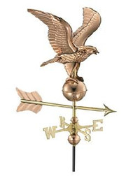 Weathervane - Eagle - Polished With Mount