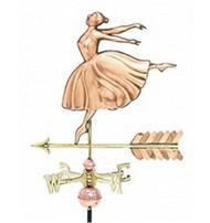 Weathervane - Polished - Cottage Dancer