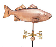 Weathervane - Polished - XL Fish