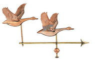 Weathervane - Polished - Double Geese