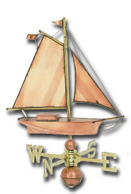 Weathervane - Polished - Large Sloop