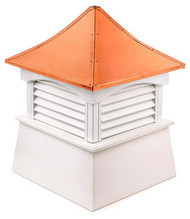 Good Directions Vinyl Coventry Cupola - 72in. square x 105in. high