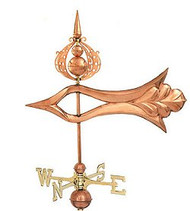 Weathervane - Polished 3-D XL Arrow
