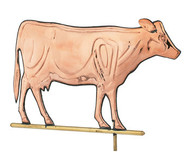 Weathervane - Polished - Cow