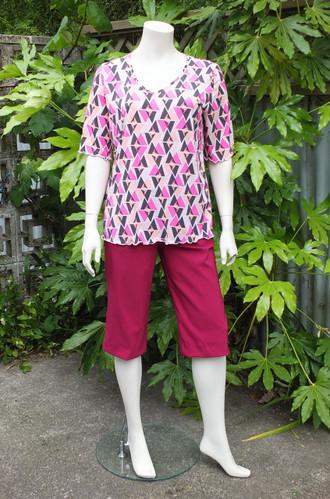 Pink Bridge Shorts