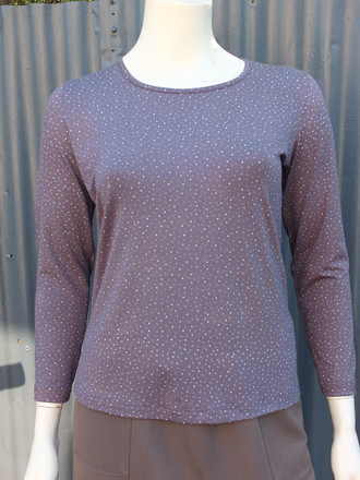 Dotty Long Sleeve Top