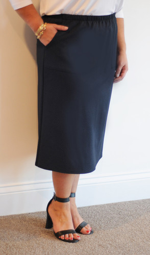 Midnight Straight Skirt
