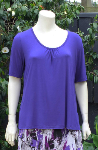 Sara Gather Neck Tee