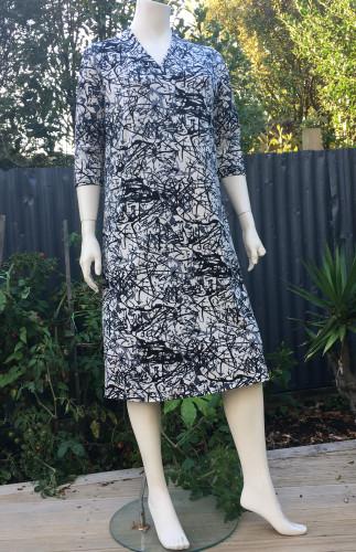 Penny Shawl Neck Dress