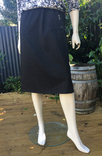 Ponte Pinstripe Skirt