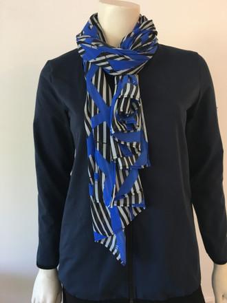 Blue Cross Scarf