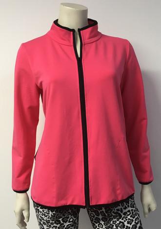 Pink Track Jacket