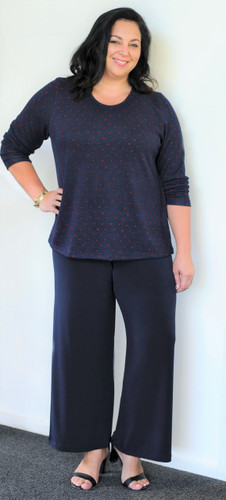 Rewind Lounge Pants-Navy Only