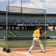 Baseball Protector Pro-Base/Fungo Replacement Net 8'H x 8'W