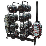 Combo Helmet/Shoulder Pad Rack