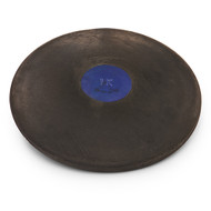 Black Rubber Discus - Official 1K track and field