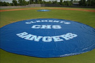 Baseball Field Covers Weighted 18 oz. 20' Diameter Mound & Base Protector