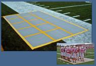 Huddle zone special teams mat