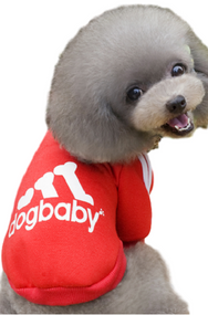 Red Dog Baby Hoodie