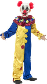 Child's  Goosebumps Clown Fancy Dress Costume