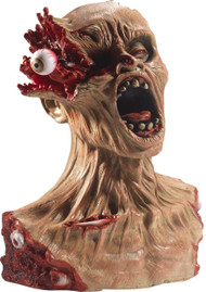 Halloween Latex Exploding Eye Zombie Bust Prop