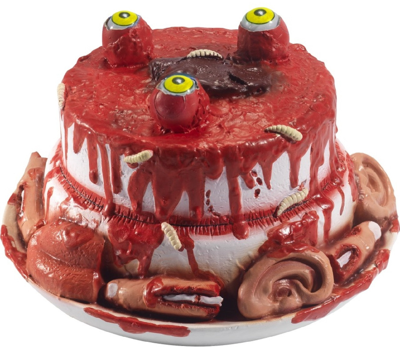 Halloween Gourmet Zombie Cake Party Prop Image 1