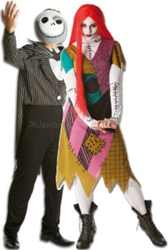 Couples Nightmare Before Christmas Fancy Dress Costumes