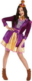 Ladies Willy Wonka Fancy Dress Costume 1