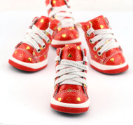 Dog Red Heart Trainers