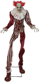 Undead Clown Animated Fancy Dress Prop