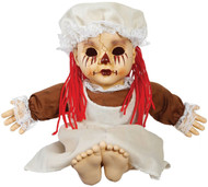 Haunted Tragedy Rag Doll With Sound