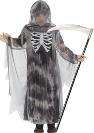 Boys Ghostly Ghoul Glow In The Dark Fancy Dress Costume