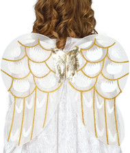 Adults Angel Fancy Dress Wings