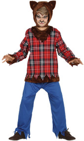 Boys Wolf Fancy Dress Costume