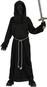 Boys Dark Reaper Fancy Dress Costume 1